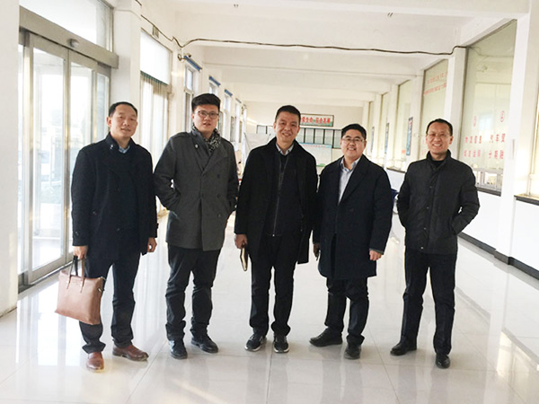 传化物流河南总裁叶文雄调研